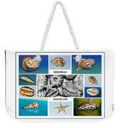 Seashell Collection 3 - Collage Weekender Tote Bag