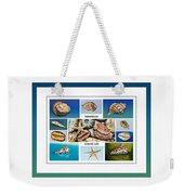 Seashell Collection 4 - Collage Weekender Tote Bag
