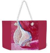 Seashell In Pink Weekender Tote Bag