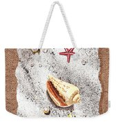 Seashell Pearls And Water Drops Collection Weekender Tote Bag