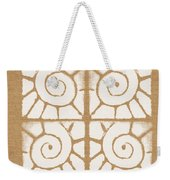 Seashell Tiles Weekender Tote Bag