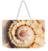 Seashell Wall Art 11 - Spiral Of Harpa Ventricosa Weekender Tote Bag