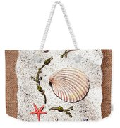 Seashell With Pearls Sea Star And Seaweed  Weekender Tote Bag
