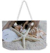 Seashells And Driftwood 2 Weekender Tote Bag