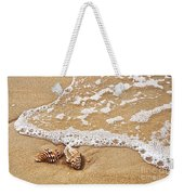 Seashells And Lace Weekender Tote Bag