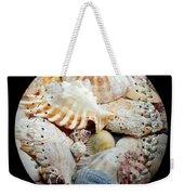 Seashells Baseball Square Weekender Tote Bag