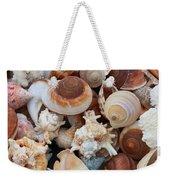 Seashells - Vertical Weekender Tote Bag
