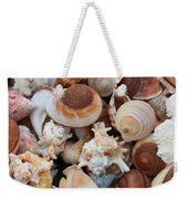Seashells - Vertical Weekender Tote Bag