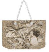 Seashells Collection Drawing Weekender Tote Bag
