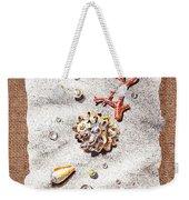 Seashells Coral Pearls And Water  Drops Weekender Tote Bag