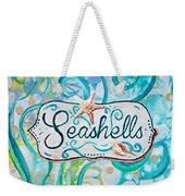 Seashells IIi Weekender Tote Bag
