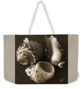 Seashells Spectacular No 1 Weekender Tote Bag by Ben and Raisa Gertsberg