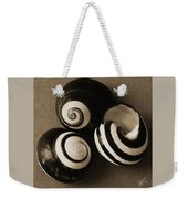 Seashells Spectacular No 27 Weekender Tote Bag by Ben and Raisa Gertsberg