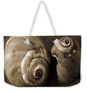 Seashells Spectacular No 6 Weekender Tote Bag by Ben and Raisa Gertsberg