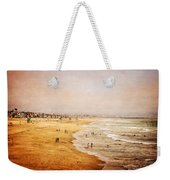Seashore At Manhattan Beach Weekender Tote Bag