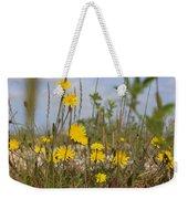 Seaside Flora Weekender Tote Bag