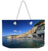 seaside in Camogli Weekender Tote Bag