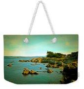 Seaside In The Distance Digital Weekender Tote Bag