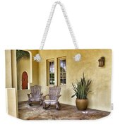 Seaside Patio Weekender Tote Bag
