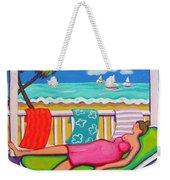 Seaside Siesta Weekender Tote Bag