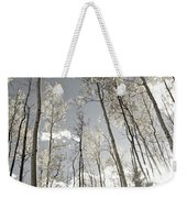 Silver Birch  Weekender Tote Bag
