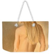 Seated Nude Weekender Tote Bag