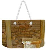 Seats For The Elders And Podium In Church Of Saint Nicholas In Myra-turkey Weekender Tote Bag