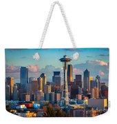 Seattle Afternoon Weekender Tote Bag
