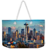 Seattle Afternoon Weekender Tote Bag