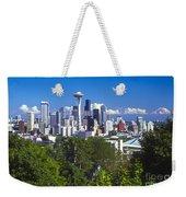 Seattle And Mt. Rainier Weekender Tote Bag