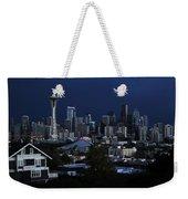 Seattle Blues Weekender Tote Bag