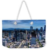 Seattle City Weekender Tote Bag