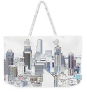 Seattle City Original Work Weekender Tote Bag