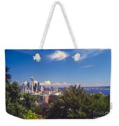 Seattle From Queen Anne Hill Weekender Tote Bag
