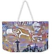Seattle Icons Weekender Tote Bag