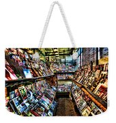 Seattle Magazine Stand Weekender Tote Bag