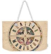 Seattle Mariners Poster Vintage Weekender Tote Bag