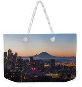 Seattle Morning Glow Weekender Tote Bag