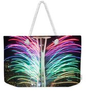 Seattle New Year Weekender Tote Bag