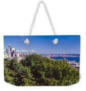 Seattle On Puget Sound Weekender Tote Bag