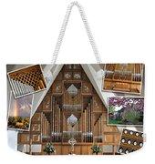 Seattle Organ  Weekender Tote Bag