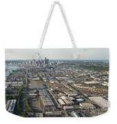 Seattle Skyline And South Industrial Area Weekender Tote Bag