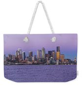 Seattle Skyline Panorama - Massive Weekender Tote Bag