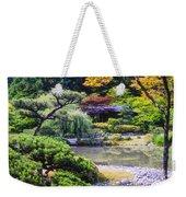 Seattle Tea Garden Weekender Tote Bag