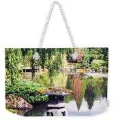 Seattle Tea Garden Reflections Weekender Tote Bag