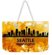 Seattle Wa 3 Weekender Tote Bag