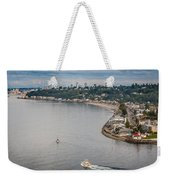 Seattle Waterfront 3 Weekender Tote Bag