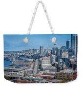 Seattle Waterfront Weekender Tote Bag