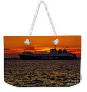 Seaways Weekender Tote Bag by Svetlana Sewell