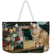 Sebestian And The Old Roses Weekender Tote Bag